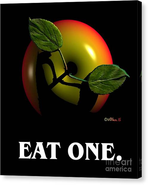 Eat One  Canvas Print