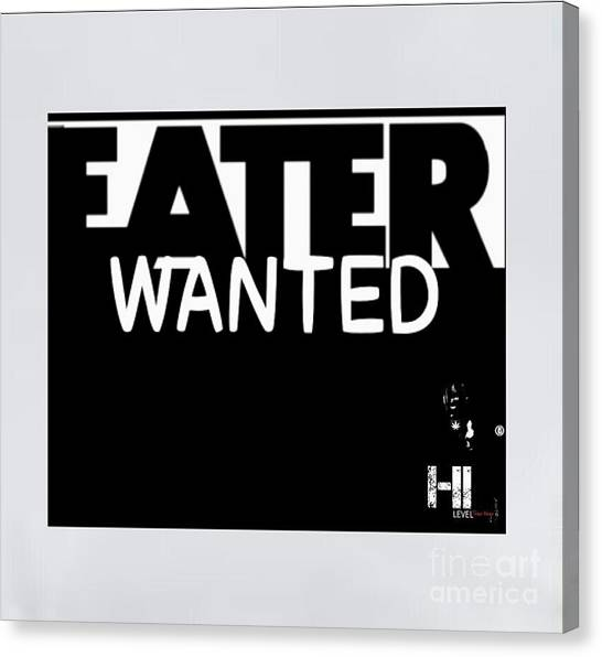 Taylor Swift Canvas Print - Eater Wanted by HI Level
