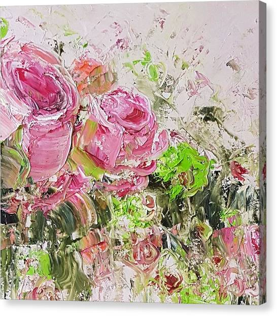 Eau De Spring Canvas Print
