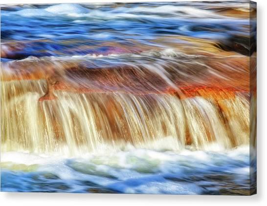Ebb And Flow, Noble Falls Canvas Print