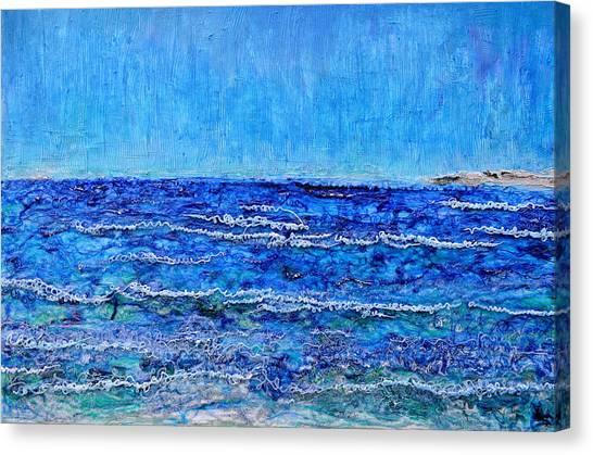 Ebbing Tide Canvas Print