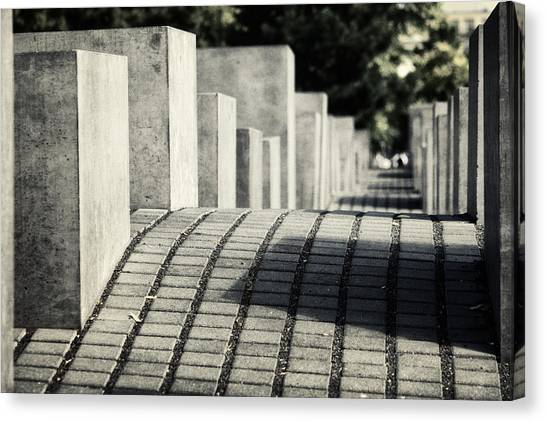 Holocaust Museum Canvas Print - Echo by Joan Carroll