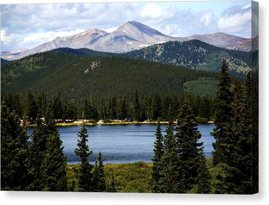Echo Lake Colorado Canvas Print