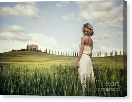 Breeze Canvas Print - Echoes Of Love by Evelina Kremsdorf