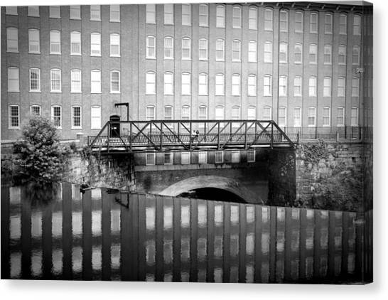Echoes Of Mills Past Canvas Print