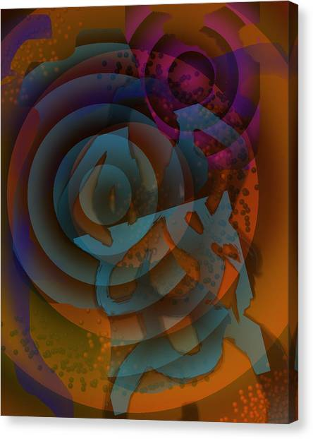 Eclectic Soul Zone Canvas Print