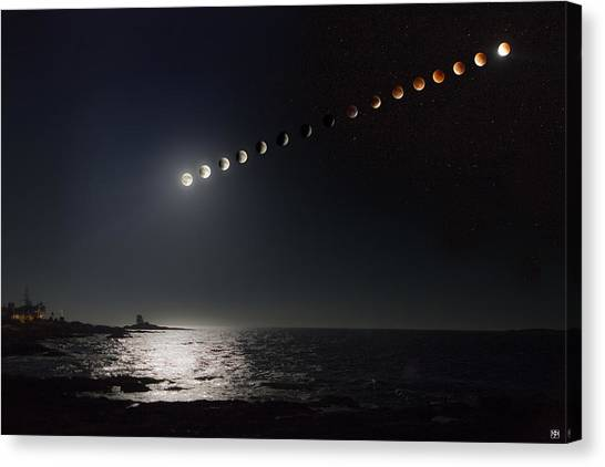 Eclipse Of The Moon Canvas Print
