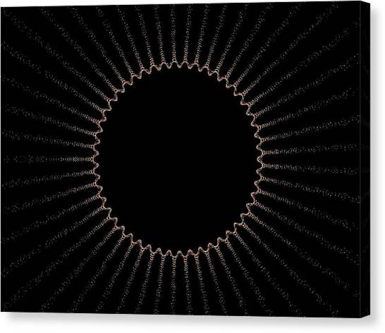 Eclipse Canvas Print by Thomas Smith