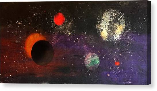 Eclipse Canvas Print by William Renzulli