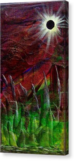 Eclpise II Canvas Print by Tony Rodriguez