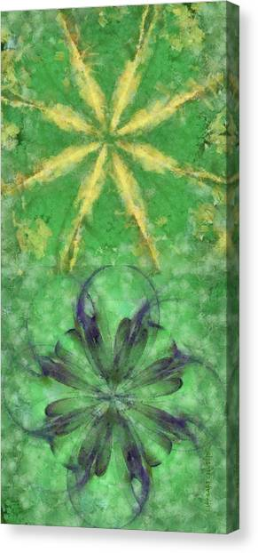 Cal Poly Canvas Print - Ecod Mental Picture Flowers  Id 16165-202449-80150 by S Lurk