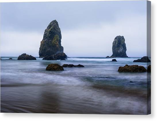 Ecola Beach Canvas Print