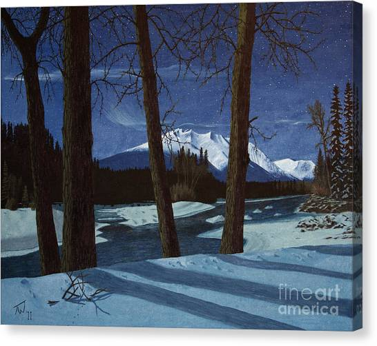 Eddy Park Moonlight Canvas Print