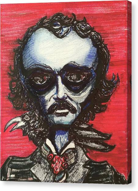 Edgar Alien Poe Canvas Print