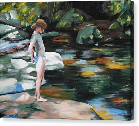 Edge Of Adolescence Canvas Print
