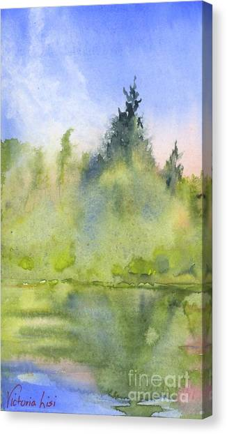 Edge Of Morning Canvas Print