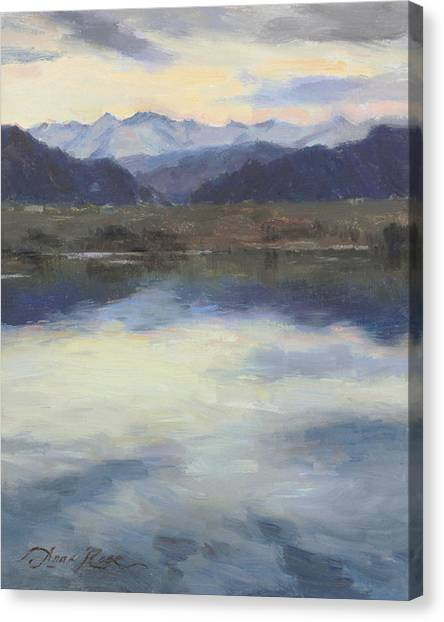 Colorado Canvas Print - Edge Of Spring by Anna Rose Bain
