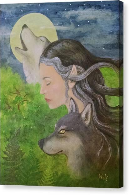 Edge Of The Wild Canvas Print