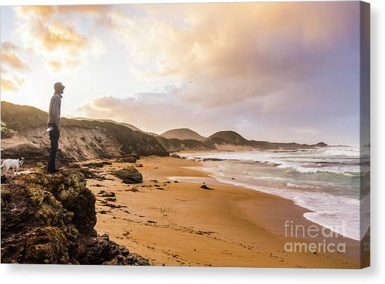 Travelling Canvas Print - Edge Of Western Shores by Jorgo Photography - Wall Art Gallery