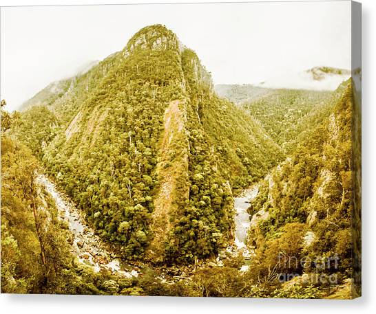 Geology Canvas Print - Edge Of Wilderness by Jorgo Photography - Wall Art Gallery