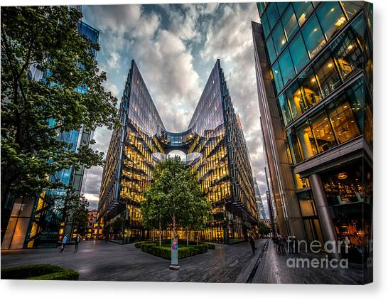 Edges Canvas Print