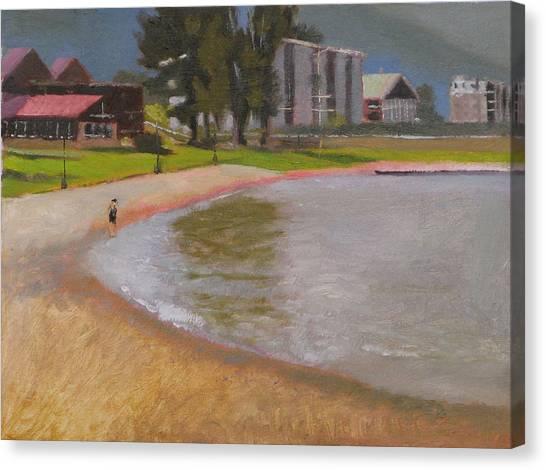 Edgewater Canvas Print by Robert Bissett