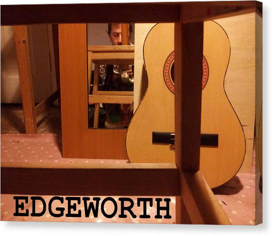 Edgeworth Acoustic Guitar Canvas Print