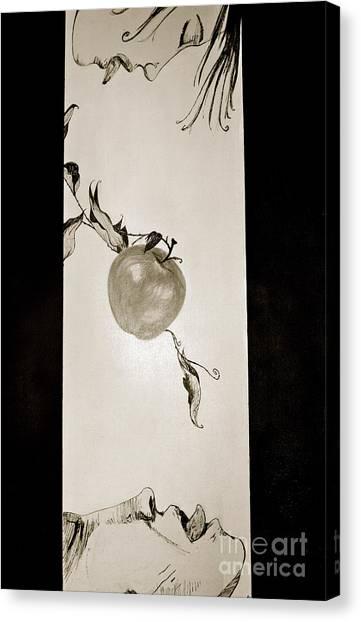 Edginggodout Canvas Print by Sone Keila