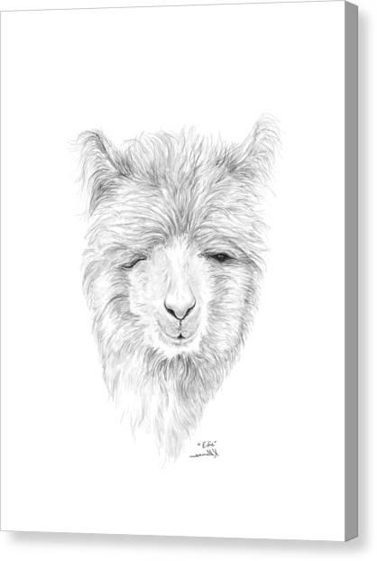 Canvas Print - Edie by K Llamas