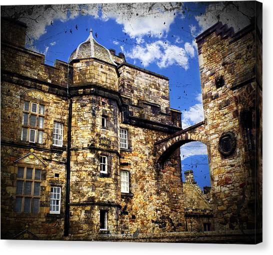 Edinburgh Castle Canvas Print