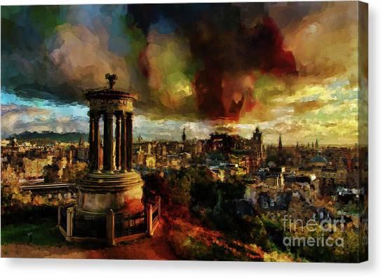 Edinburgh Scotland 01 Canvas Print