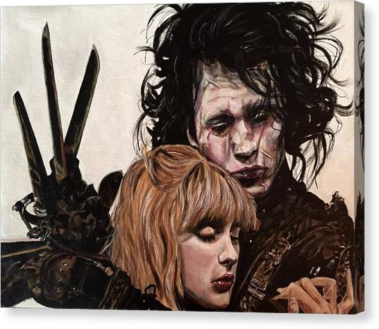 Edward And Kim Canvas Print