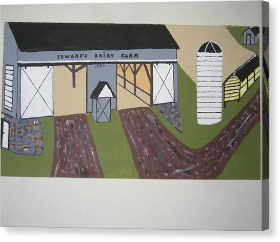 Canvas Print - Edwards Dairy Farm by Jeffrey Koss