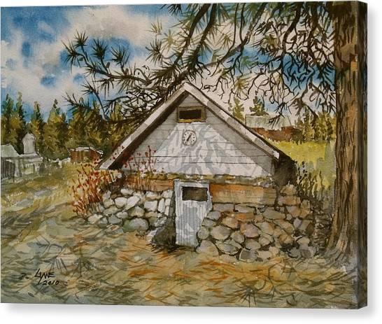 Edwards Root Cellar Canvas Print