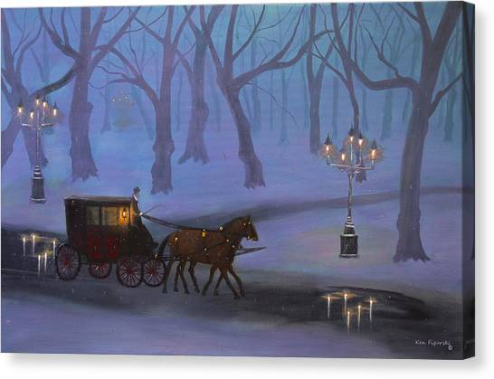 Eerie Evening Canvas Print