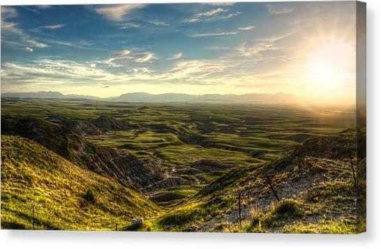 Egg Mountain Montana Canvas Print