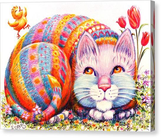 Eggbert Canvas Print