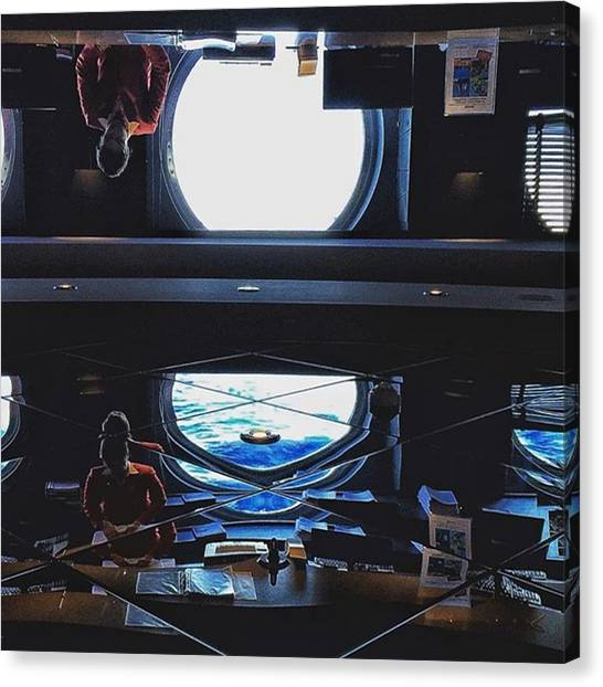 Portal Canvas Print - Egress #onedeluge #instaprints by Jason Hillman