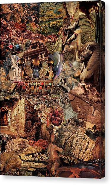 Egypsies Canvas Print by Baba Trips