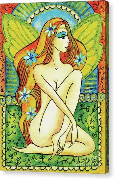 Egyptian Fairy I Canvas Print