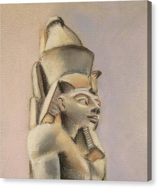 Egyptian Study Canvas Print