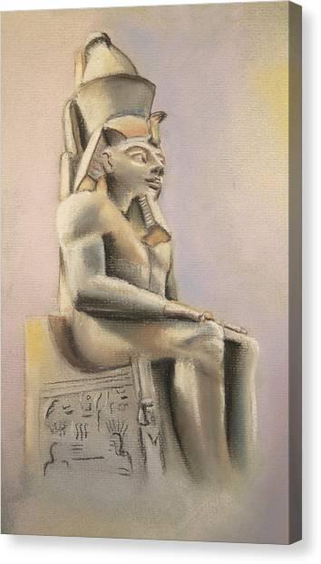 Egyptian Study II Canvas Print
