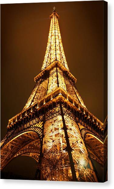 Paris Canvas Print - Eiffel by Skip Hunt