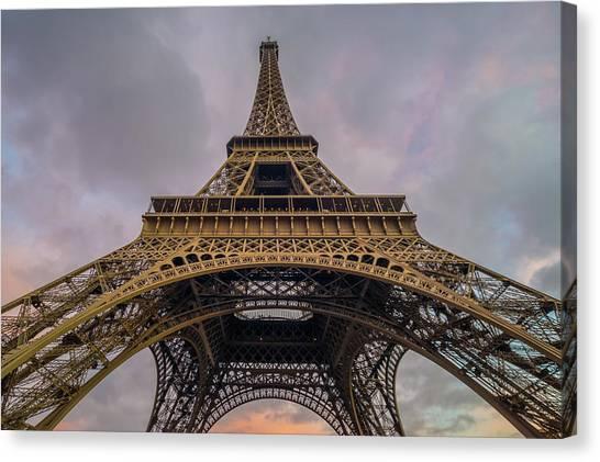 Eiffel Tower 5 Canvas Print