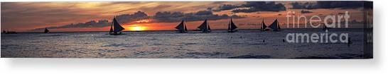 Eight Sailer Canvas Print