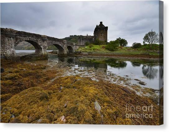 Castles Canvas Print - Eilean Donan Castle by Smart Aviation