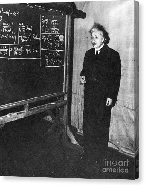 Notable Canvas Print - Einstein At Princeton University by Science Source