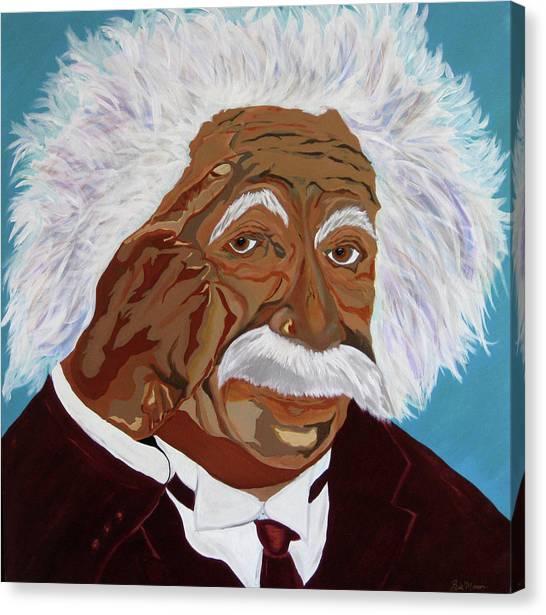 Einstein-relative Thinking Canvas Print