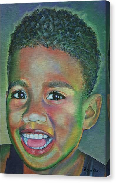 Eka  Canvas Print by Sharon Ebert