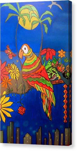 El Bird Canvas Print by MikAn 'sArt